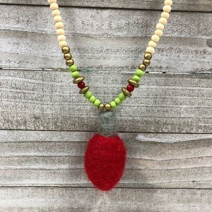 Christmas Light Necklace